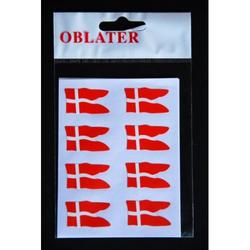 Oblater Split flag stor - 16 stk.