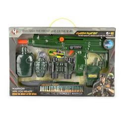 MILITARY PLAYSET 6pcs 37cm