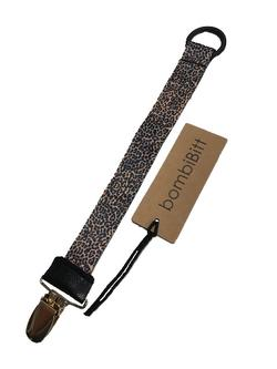 Sutte holder LEOPARD m/ring