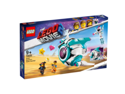 70830 LEGO Movie Maker Kandis Kaos' Sø›star-rumskib!