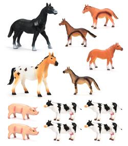 MEGA FARM ANIMALS 28-40cm