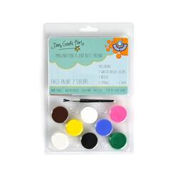 FACE PAINT 7 COLORS, WATER BASED 19cm