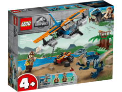 75942 LEGO Juarssic World Velociraptor: Flyredningsmission​