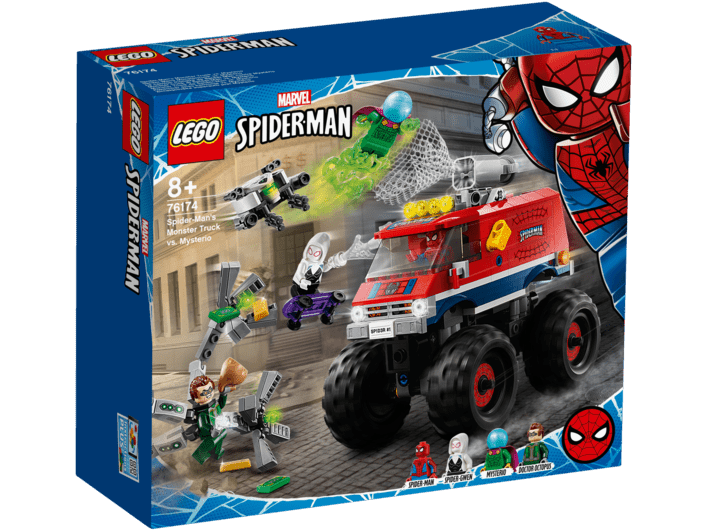 76174 LEGO Marvel Spider-Mans monstertruck mod Mysterio