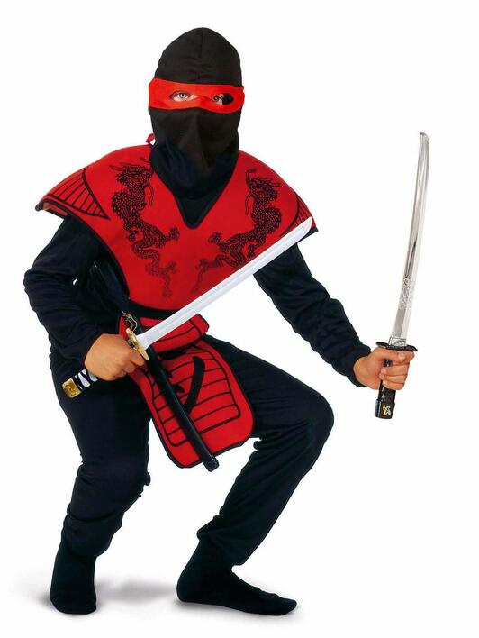 Ninja fighter Red 120 cm