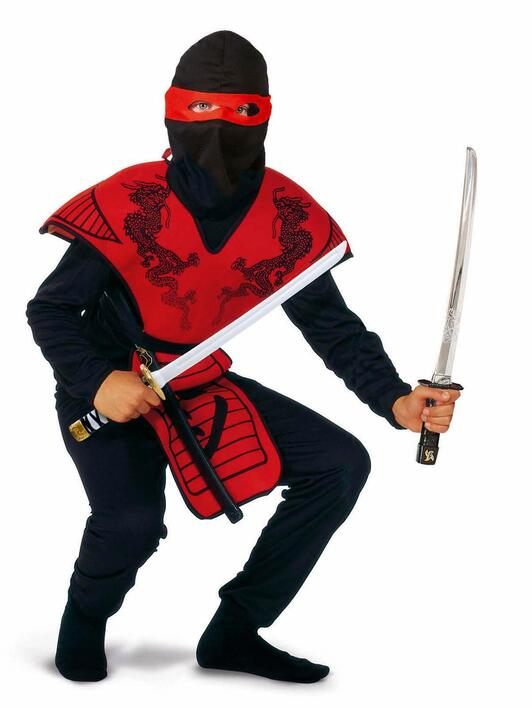 Ninja fighter Red 160 cm