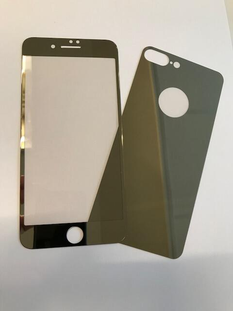 Glass Protection I7+ - Gold