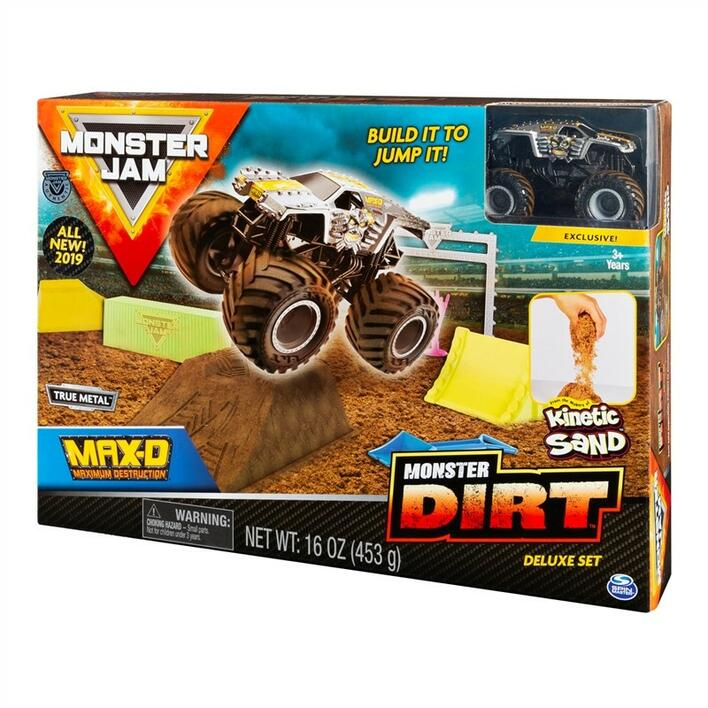 Monster Jam Kinetic Dirt Deluxe Set asst