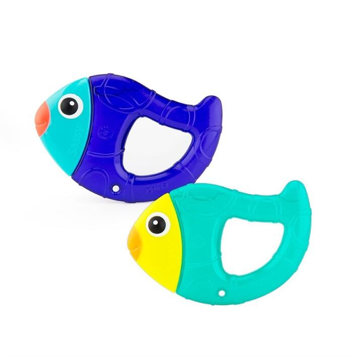 Sassy Chill n´ Chirp Teethers 2 pack
