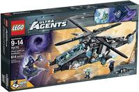 70170 LEGO Ultra Agents Ultra Copter mod Antimatter