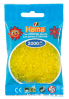 Hama mini perler transparent gul 501-14