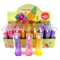 Viskelæder LIPSTICK FRUIT SCENTED 3ass 7cm