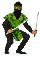 Ninja fighter Green 140 cm