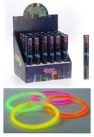 Glow in the dark, 15 sticks.