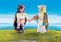 Playmobil Astrid og Hiccup