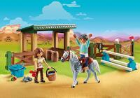 Playmobil Riding arena with Lucky and Javier
